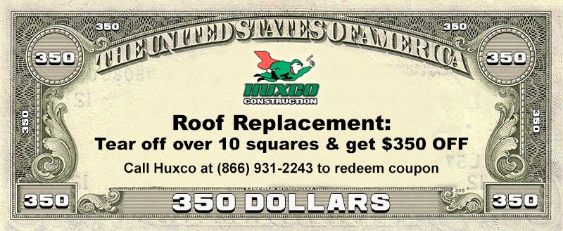 St. Louis Roof Replacement Coupon